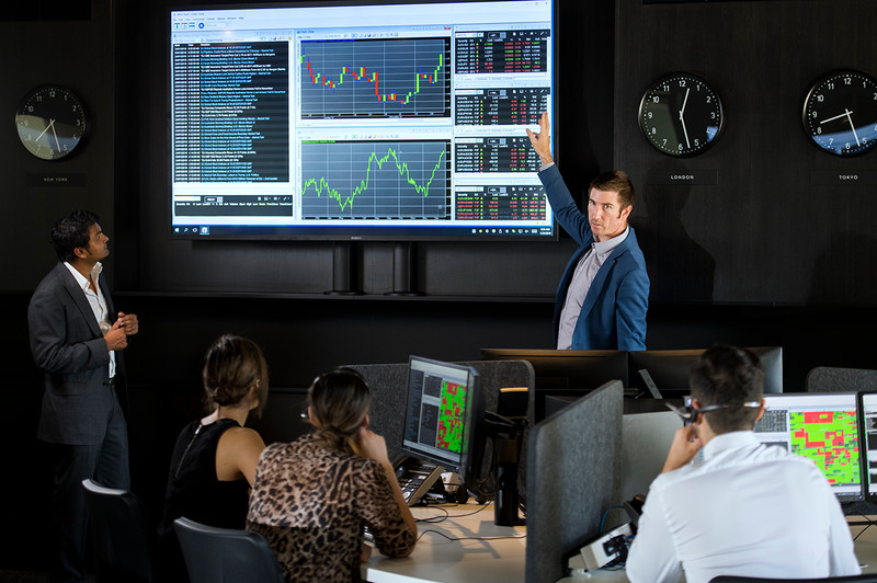 Image of the IRESS Trading Room